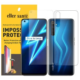 Eller Sante ® Realme 6 Impossible Hammer Flexible Film Screen Protector (Front+Back)