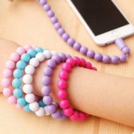 Chaopai ® Amaozus Beads Bracelet Android/Windows Micro USB Charging / Data Cable