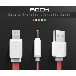 Rock ® Smart Safe Apple Lightning Port Flat Charging / Data Cable