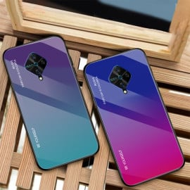 VAKU ® Vivo S1 Pro Dual Colored Gradient Effect Shiny Mirror Back Cover