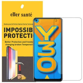 Eller Sante ® Vivo Y30 Impossible Hammer Flexible Film Screen Protector (Front)