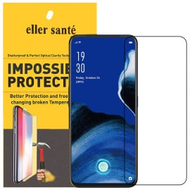 Eller Sante ® Oppo Reno 2Z Impossible Hammer Flexible Film Screen Protector (Front+Back)