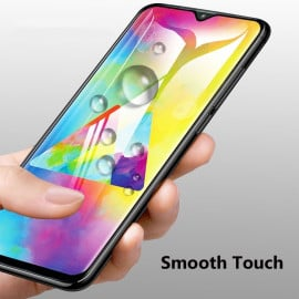 Dr. Vaku ® Samsung Galaxy A70S 5D Curved Edge Ultra-Strong Ultra-Clear Full Screen Tempered Glass-Black
