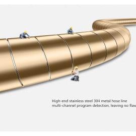 Joyroom ® Metal Steel Spring In-destructable Ultra-Durable Long-Life Apple Lightning Port Charging / Data Cable