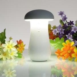 VAKU ® 2 in 1 Mushroom Charging Power Bank ABS Body with Special LED Lamp mushroom head High Power 8,800 MAH Dual-USB Output Power Bank