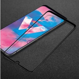 Dr. Vaku ® Samsung Galaxy A50S 5D Curved Edge Ultra-Strong Ultra-Clear Full Screen Tempered Glass-Black