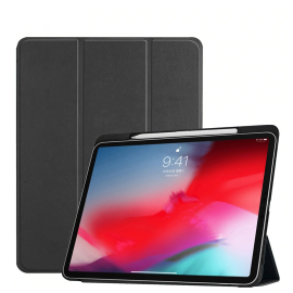 Vaku ® For Apple iPad Pro 11 Aniline Texture Series 360 Degree shock-proof Water-resistant Magnetic Stand Flip Cover with Pencil Holder