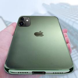 Vaku ® Apple iPhone 11 Matte Chromaina Wireless Edition Soft Chrome 4 Frames Plus Ultra-Thin Back Cover