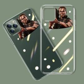Vaku ® For Apple iPhone 11 Pro Terminator Rocket Launcher Designer Print Transparent Back Cover