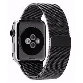 Vaku ® Apple Watch 42mm / 44mm Magnetic Clasp Stainless Steel Mesh Band