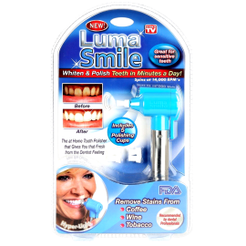 Luma Smile Tooth Polisher (with 5 Polishing Cups)