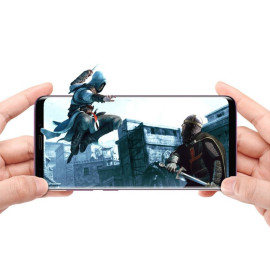 Dr. Vaku ® Samsung Galaxy S9 3D Curved Edge Full Screen Tempered Glass