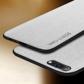 Vaku ® OnePlus 5 Luxico Series Hand-Stitched Cotton Textile Ultra Soft-Feel Shock-proof Water-proof Back Cover