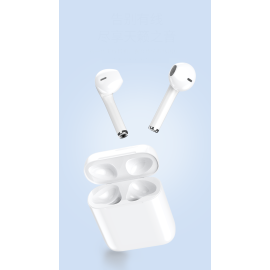 i12 TWS ® Twins true wireless sports friendly earbuds V5.0+EDR + Touch Popup Window Function
