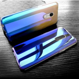 Vaku ® Xiaomi Redmi Note 4 Infinity Series with UV Colour Shine Transparent Full Display PC Back Cover
