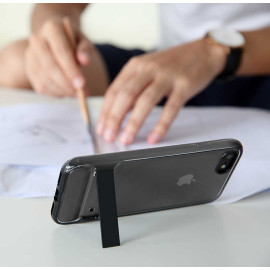 Rock ® Apple iPhone SE 2020 Royle Series Transparent View Ultra-thin + inbuilt Stand Back Cover