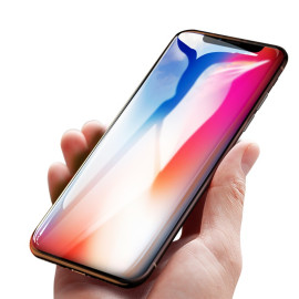 Dr. Vaku ® Apple iPhone X / XS 5D Curved Edge Ultra-Strong Ultra-Clear Full Screen Tempered Glass