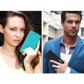 Rock ® LG Google Nexus 5 Elegante Series Skin Feel Folio Grip PU Leather Case Flip Cover