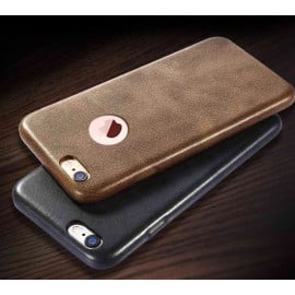 Usams ® Apple iPhone 6 Plus / 6S Plus Ultra-thin Elegant Logo Display Grained Leather Case Back Cover