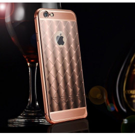 Xuenair ® Apple iPhone 6 / 6S Dazzling Acrylic Ultra Slim Metal Electroplating Aluminium Bumper + Back Cover