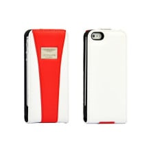 Aston Martin Racing ® Apple iPhone 5 / 5S / SE Vertical Flip Official Leather Case Limited Edition Flip Cover