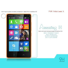 Dr. Vaku ® Nokia X Ultra-thin 0.2mm 2.5D Curved Edge Tempered Glass Screen Protector Transparent