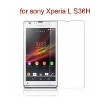 Dr. Vaku ® Sony Xperia L Ultra-thin 0.2mm 2.5D Curved Edge Tempered Glass Screen Protector Transparent