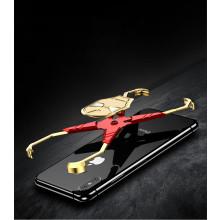 VAKU ® Apple iPhone X/ XS Ironman Stark Aluminum Metal Back Cover