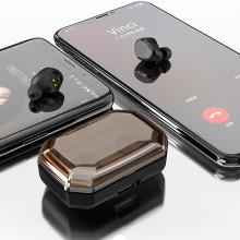 VAKU ® TWS S8 Plus Capacitive Touch Waterproof Earphones with Inbuilt 3000mAh Power Bank