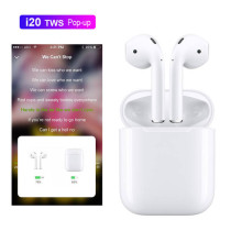 VAKU ® NextGen i9p Twin Wireless Bluetooth Earphones V5.0 +EDR with Apple Pop-up Window Function & Portable Charging Box
