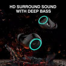 VAKU ® BS03 Luminated Wireless HD-STEREO Earphones with Bluetooth 5.0 + EDR