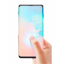 Dr. Vaku ® Samsung Galaxy S10 5D Curved Edge Ultra-Strong Ultra-Clear Full Screen Tempered Glass-Black