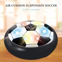 Eller Santé ®  Sports Air Football with Air Powered Rubber Cushion & Blinking Multi colored LEDs