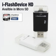 i-FlashDevice ® Unlimited Memory Extender for Apple iPhone / iPad Lightning Port