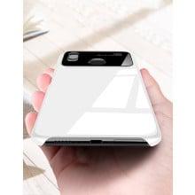 Vaku ® Vivo Y85 Polarized Glass Glossy Edition PC 4 Frames + Ultra-Thin Case Back Cover
