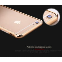 Joyroom ® Apple iPhone 6 / 6S Ultra-thin Screw-less 24K Electroplated Aircraft Grade Aluminium Frame Bumper Case / Cover