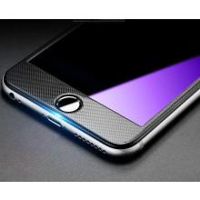 Dr. Vaku ® Apple iPhone 6 Plus / 6S Plus 3D Carbon Fiber Finish Full Screen Coverage 9H Hardness Shock-Absorbing Tempered Glass