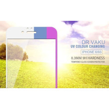 Dr. Vaku ® Apple iPhone 6 / 6S Sunlight UV Auto-Colour Changing 0.3mm Ultra-thin Innovative 9H Hardness Tempered Glass