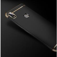 Vaku ® Vivo Y85 Ling Series Ultra-thin Metal Electroplating Splicing PC Back Cover