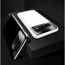 Vaku ® Samsung Galaxy S10 Polarized Glass Glossy Edition PC 4 Frames + Ultra-Thin Case Back Cover