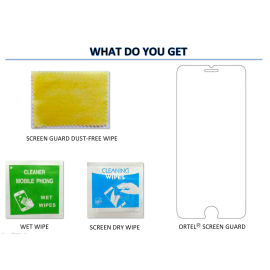 Ortel ® Lava Iris 454 Screen guard / protector