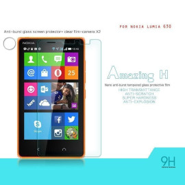 Dr. Vaku ® Nokia Lumia 630 Ultra-thin 0.2mm 2.5D Curved Edge Tempered Glass Screen Protector Transparent