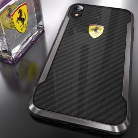 Ferrari ® iPhone XR APERTA Ultra-Thin with carbon fiber and Aluminum Alloy Back Cover
