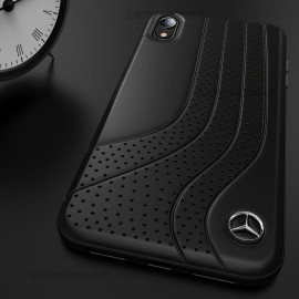 Mercedes Benz ® iPhone XR Dotted Wave Series Luxury Edition Back Cover