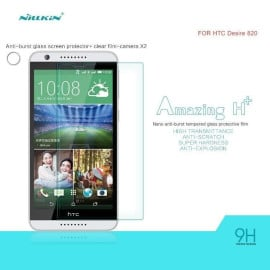 Dr. Vaku ® HTC Desire 820 Ultra-thin 0.2mm 2.5D Curved Edge Tempered Glass Screen Protector Transparent