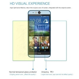 Dr. Vaku ® HTC Desire Eye Ultra-thin 0.2mm 2.5D Curved Edge Tempered Glass Screen Protector Transparent