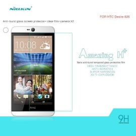 Dr. Vaku ® HTC Desire 826 Ultra-thin 0.2mm 2.5D Curved Edge Tempered Glass Screen Protector Transparent