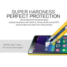 Dr. Vaku ® Lava Iris X1 Ultra-thin 0.2mm 2.5D Curved Edge Tempered Glass Screen Protector Transparent