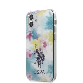 US Polo Assn  ®  Apple iPhone 12 / 12 Pro / 12 Pro Max Multicolor DYE TPU Hard Case Backcover
