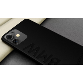 BMW ® For Apple iPhone 11 Official Racing Leather Case Limited Edition Back Cover